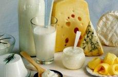 Молочні продукти при виразці шлунка: сир, кефір, сир