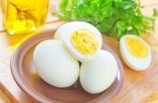 Можна їсти яйця при проносі дитини, дорослому