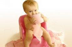 Висока температура і пронос у дитини: причини і лікування