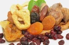 Можна їсти сухофрукти при гастриті і які вибрати?