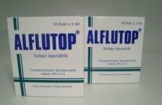 Алфлутоп: інструкція по застосуванню, ціна, відгуки, аналоги, побічні дії, склад