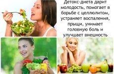 Детокс-дієта: програма в домашніх умовах, оптимальний рецепт, меню на тиждень