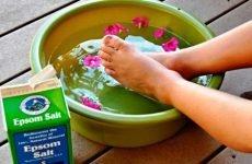 Як лікувати артрит сіллю Епсома…