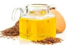 Лляне масло при артриті, корисні властивості…
