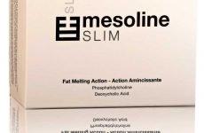 Mesoline Slim «Стрункий силует»: склад, ціна, показання, протипоказання, побічні ефекти, відгуки