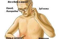 Чому після видалення жовчного міхура болить правий бік під ребрами