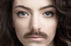 Поява вусів над верхньою губою у жінок: