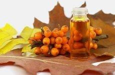 Правила і схема лікування виразки шлунка обліпиховою олією