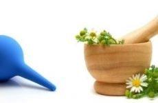 Застосування клізм при простатиті: з ромашкою, з содою, з медом, з прополісом та евкаліптом