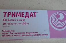 Таблетки Тримедат: показання, інструкція із застосування, відгуки лікарів, аналоги, побічні дії
