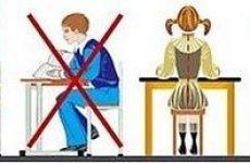 Порушення постави у школярів: це необхідно знати батькам