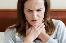 Відчуття грудки в горлі при ВСД