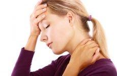 ВСД на тлі шийного остеохондрозу
