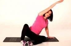 Всі вправи і гімнастика при кифосколиозе