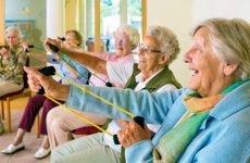 Фізичні вправи для людей похилого віку