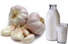 Рецепти застосування часнику з молоком від високого тиску