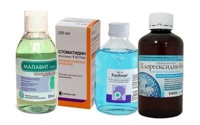 Які ліки застосовують при глосит?