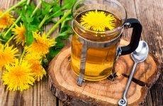 Користь чаю з кульбаби, корисні властивості…