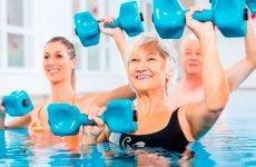 Користь вправ у воді, які переваги…